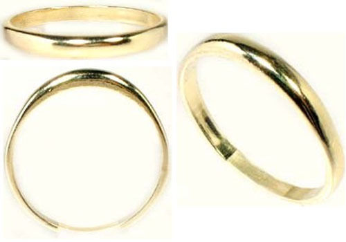 14kt Gold Band Hi-Quality Ancient Hellenic Greco-Roman Minoan Mycenean Artisans