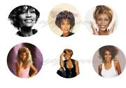 Whitney Houston Button