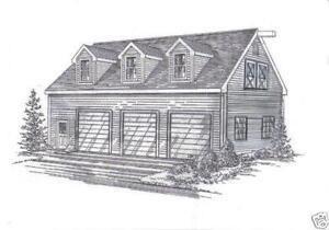 Garage plans ebay for 24x32 garage plans