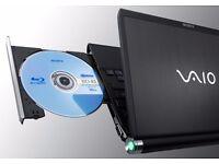 Ultrabook SONY VAIO TZ series, Intel Core2 Duo, 2GB RAM, Wi-Fi, Bluetooth, DVD-RW, hard to find!