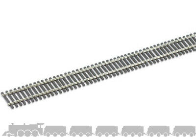 Hornby R600 1 x 168mm Straight Track Nickel Silver 00 Gauge 1st Peco ST-200