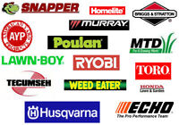 Lawn mowers  Service  Repair  Free est. & Pick up  All Areas....