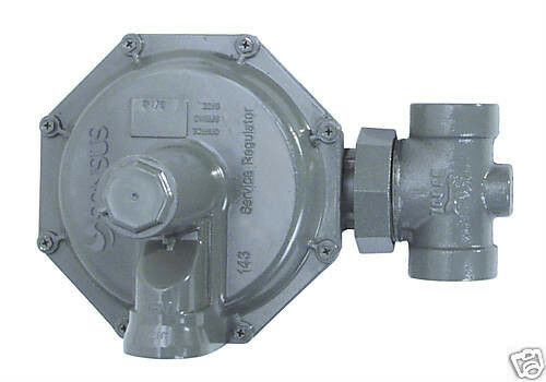 "SENSUS 143-80-2 (3/4"" or 1"") NATURAL GAS REGULATOR *Specify Spring, orifice, NPT"