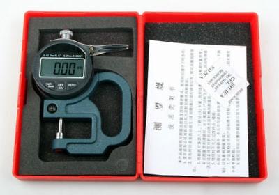 Digital Thickness Gauge 0.01mm Tester Meter Paper Film Leather Measuring Tool
