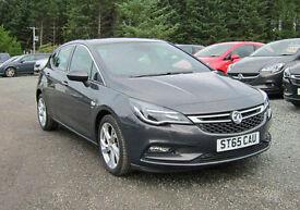 Vauxhall Astra 1.6 CDTi SRi - Very low mileage - Low tax