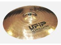 "Ufip Bionic ""20 Ride - ""16 Crash - ""12 Hi Hat - Professional Cymbals| Any test welcome"