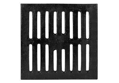 12 Square Cast Iron Bar Floor Drain Strainer Jumbo 693
