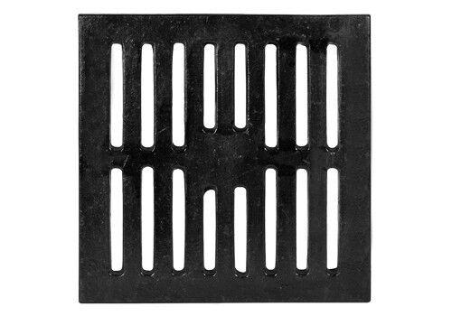 "12"" Square Cast Iron bar  Floor Drain Strainer Jumbo 693"
