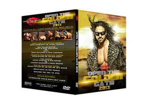 Official DGUSA Dragon Gate USA : Open The Golden Gate 2013 Event DVD