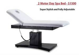 Amazing 2 Motor Beauty Bed Day Spa Massage Table Waxing Salon Rocklea Brisbane South West Preview