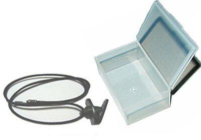 Custom Molded Earplug Diy Fit Kit- Case Lanyard W Shirt Clip