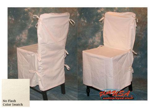 cream dining chair covers ebay