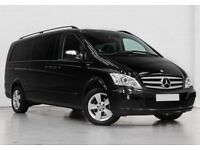 ***£225/week*** Mercedes-Benz Viano Ex-Long Black 8 Seats - PCO for Rent (2015) 15 - From £225/week