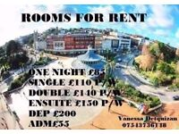 HOLIDAY RENTALS - ONE NIGHT - TWO NIGHT - A WEEK - BOURNEMOUTH - UK