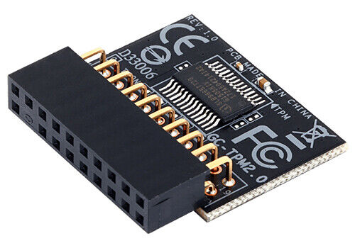 GIGABYTE GC-TPM2.0 TPM Module GC-TPM 2.0 (20 Pin 20-1) Trusted Platform Module