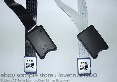 Type15 SD SDHC MemoryCard Extender Extension Cable Connection Extender Linker