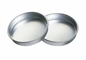 New Wilton Aluminum Performance Pans Set of 2 9-Inch Round Cake Set