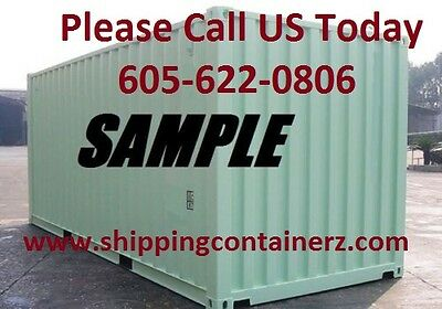 New One Trip 20ft Shipping Container Storage Container for sale in Cleveland OH