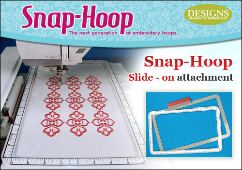 "Magna SNAP HOOP LARGE 7x12"" Embroidery Hoop Brother Quattro Duetta Innov-is 4000"