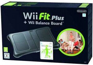 Wii Fit Plus Game and Balance Board Bundle - Black - Brand New Sealed - Nintendo