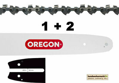 50cm Führungsschiene 3//8 2 Ketten für Stihl 044 MS440 guide bar chain