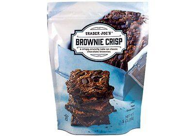 Gluten Free Vegan Brownies - Trader Joes Vegan, Gluten Free Brownie Crisp - 5 oz (2 pk)