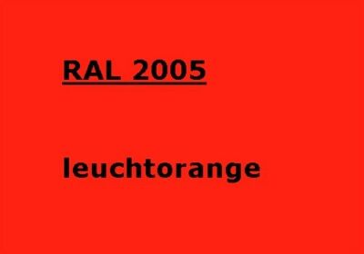RAL 2005
