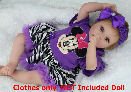 Reborn Baby Girl Clothes for 20