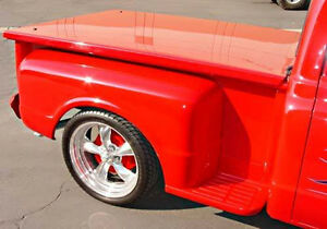 Classic Truck Fiberglass Bed Cover Hard Tonneau Stepside