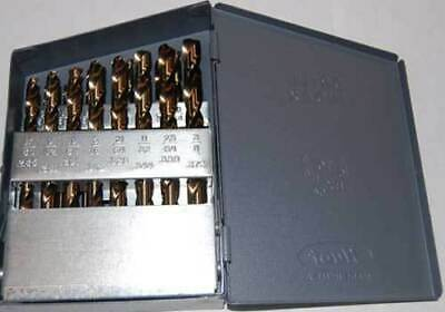 21 Pcs Drill America 116-38x64ths M42-8 Cobalt Jobber Drill Set Whuot Index