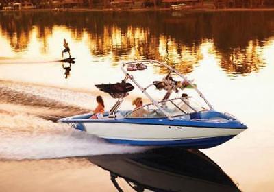 6.25oz SEMI-CUSTOM BOAT COVER FOR MB SPORTS TOM CAT F23 TOWER I/O 2007-2007