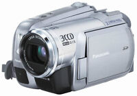 Panasonic PV-GS300 3.1MP 3CCD MiniDV Camcorder with 10x Optical