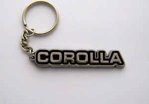 TOYOTA-COROLLA-KEY-CHAIN-KE70-NEW-CHROME-KEYRING-KE80-ae86