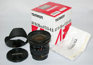 Objectif Tamron 19-35mm