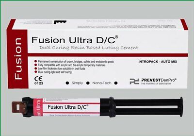 Prevest Denpro Fusion Ultra Dc Dual Cure Resin Based Luting Cement Dental Us