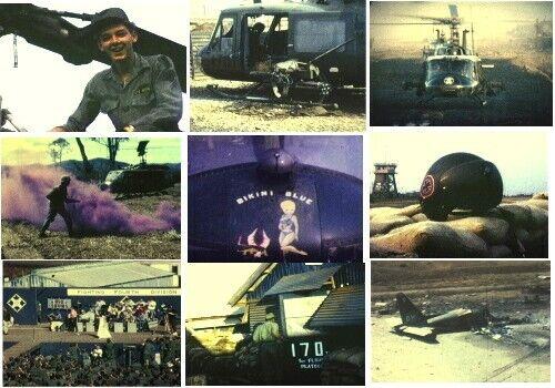 Vietnam War 170th AHC Bikinis & Buccaneers Home Movies DVD Camp Holloway Pleiku