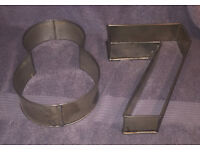 Cake Tins - Number Set