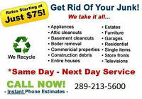 Niagaras Best Junk Removal Services