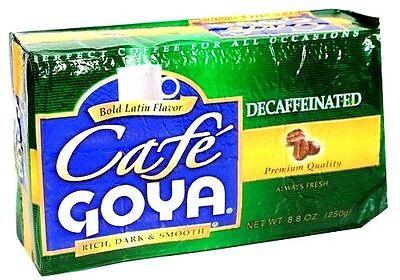 Cafe Goya Decaffeinated 8.8 oz (Cafe Descafeinado)
