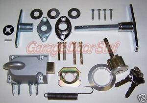 garage door lock cylinder u0026 t handle kit