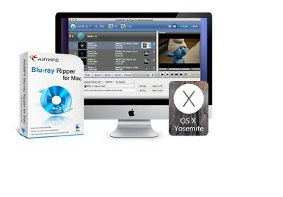 AnyMP4 Blu-ray converter for Mac, BD to Video MP4,AVI,WMV,MKV,VOB,FLV HD ++