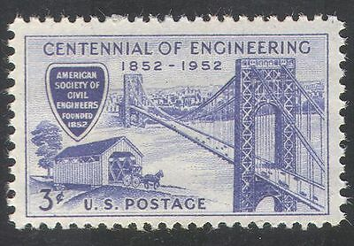 USA 1952 BRIDGE/BRIDGES/HORSE/CARS/ENGINEERING/BUILDINGS/TRANSPORT 1V  N29009
