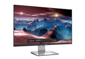 "Dell 27"" glossy screen HD monitor"