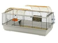 large pet cage, ideal for rabbit or guinea pig + accessories and food