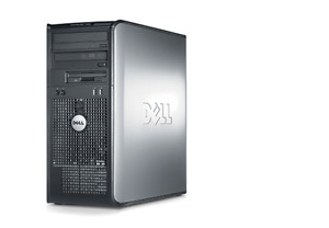 Dell Dual Core Desktop Computer 250 GB HDD 4.0 GB Ram Win 7