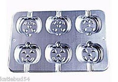 Wilton Jack-O-Lantern Cookie Pop Pan 2105-8100 Pumpkin Halloween