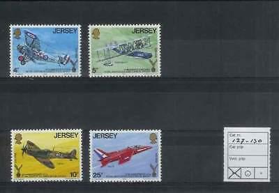 Jersey postfris 1975 MNH 127-130 - Vliegtuig / Airplane