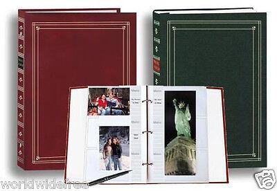 Pioneer APS-247 3-Ring Bi-Directional Le Memo Photo Album - BINDER ONLY Bi Directional Le Memo Album