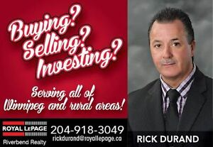 BUYING OR SELLING REAL ESTATE?