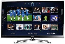 SAMSUNG PS51F5500 51 inch FULL HD 1080p PLASMA SCREEN 3D SMART TELEVISION TV c/w STAND IMMACULATE